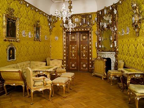 Porzellanzimmer aus dem Palais Dubsky