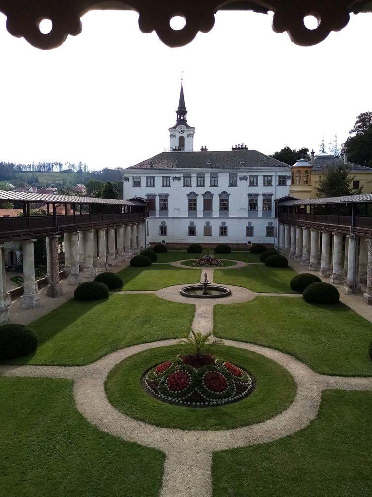 Schloss Lysice, Mähren, Tschechien