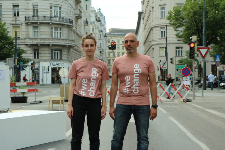 Viktoria Heinrich und Harald Gründl © Fabian Stern /IDRV StadtFabrik