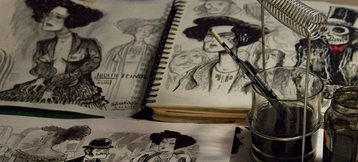 App-Stories #5: Wien 1900, Wien und der Comic: der Zeichner Andre Breinbauer im Interview