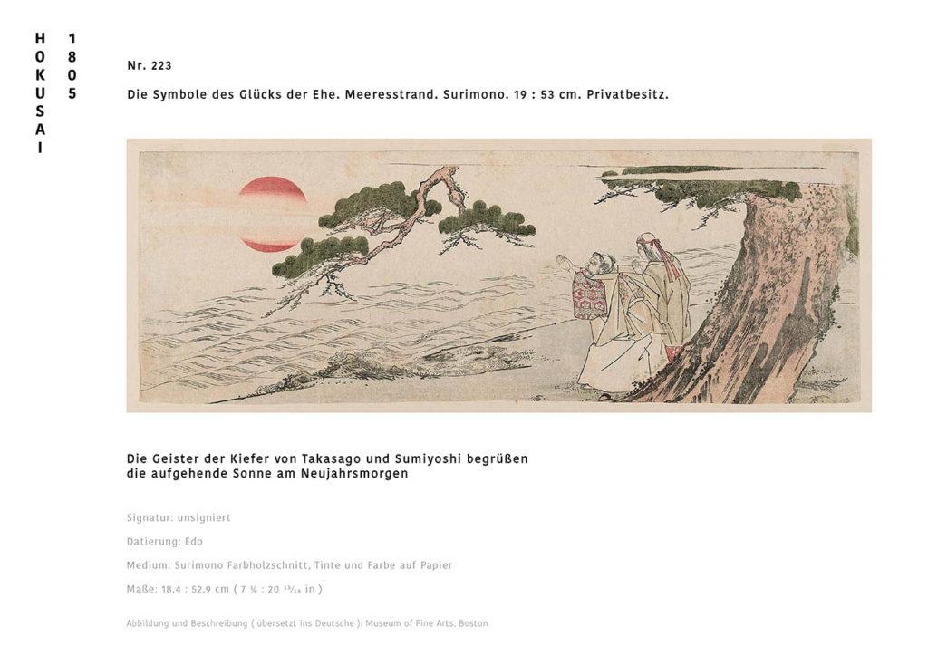 Visualisierung einer hypothetischen Neuauflage, Hokusai im MAK