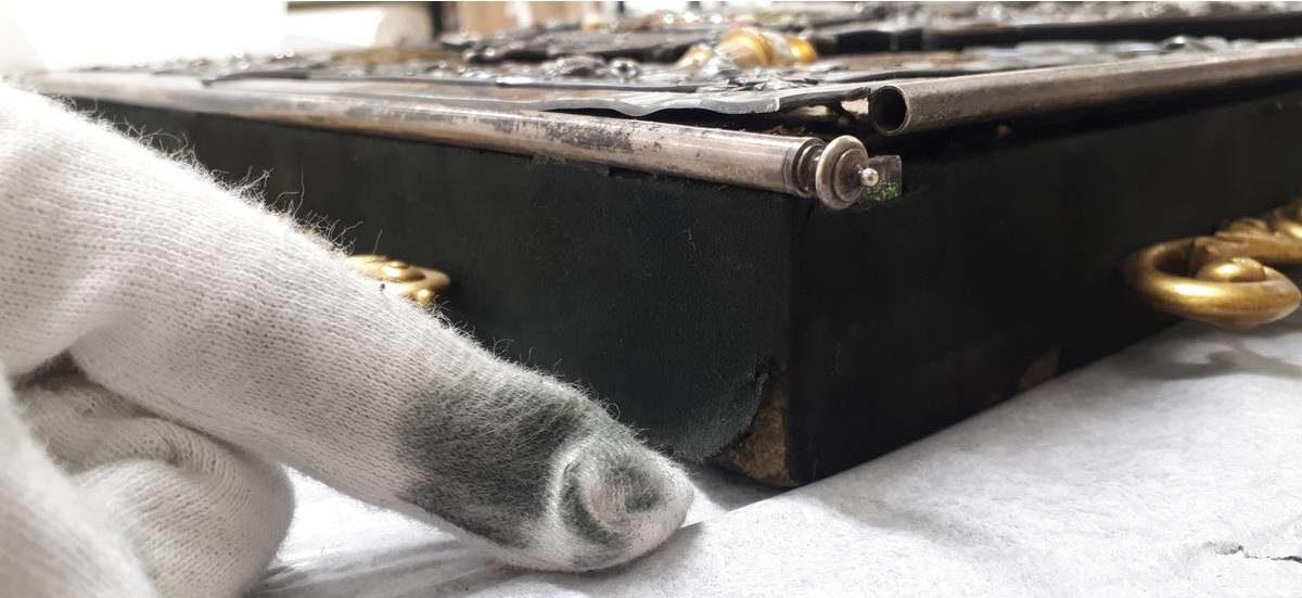 Nikolaus Dumbas Prunkkassette: ein außergewöhnliches Restaurierungsprojekt