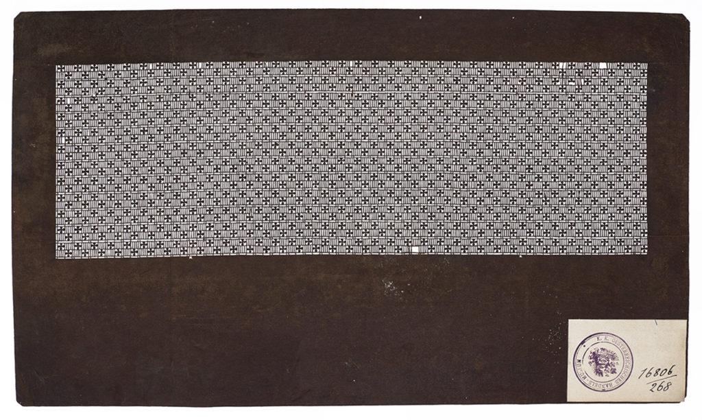 Färbeschablone (Katagami), 19. Jh. © MAK/Georg Mayer Katagami im MAK