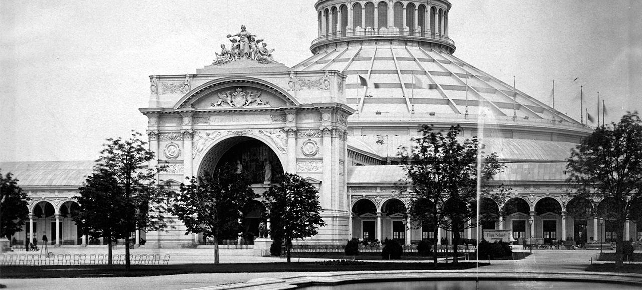 Industriepalast, Weltausstellung Wien 1873 © MAK