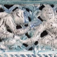 Ton und Feuer, Handwerk und Kunst – Die Restaurierung einer Kaminverkleidung von Vally Wieselthier