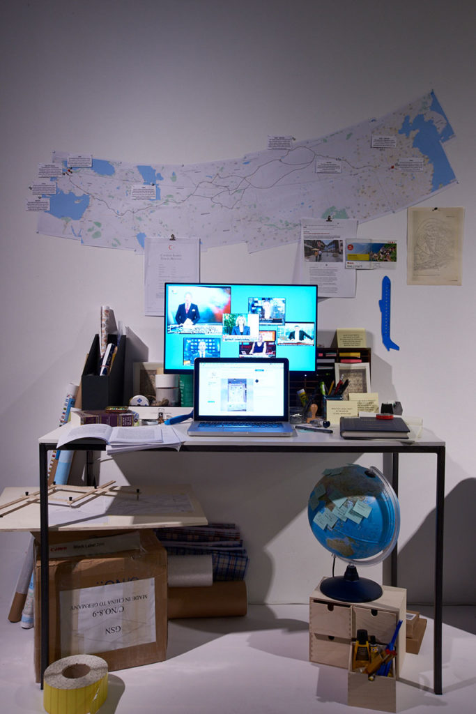 Ebru Kurbak, The Copy Room, 2019 MAK DESIGN LAB © MAK/Georg Mayer