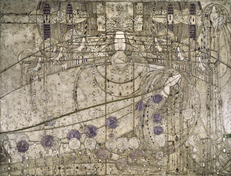 Der waerndorfer fries in der mak schausammlung wien 1900 for Innendekoration 1902