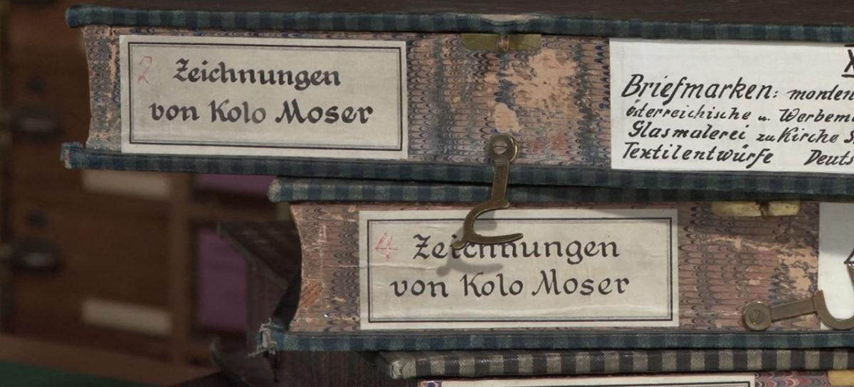 KOLOMAN MOSER – Der Weg zum modernen Ornament
