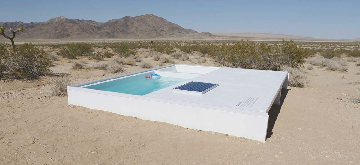 Social Pool: Der Swimmingpool von Alfredo Barsuglia in der Mojave-Wüste