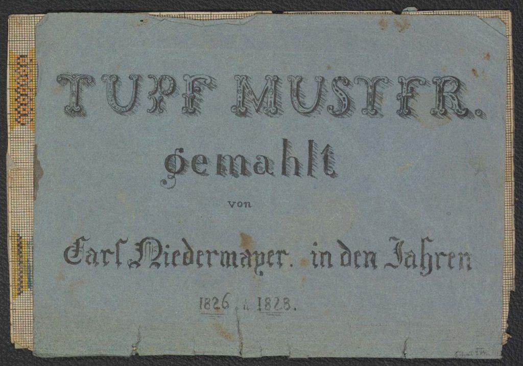 Vorlagenbuch Tupfmuster von Carl Niedermayer