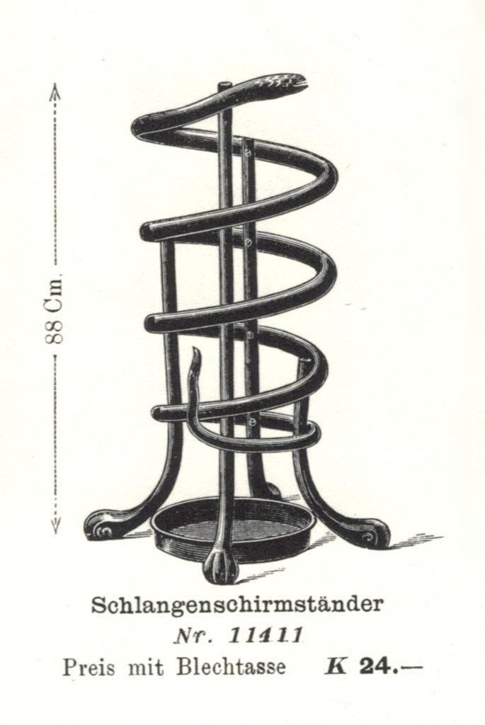 Scan aus Verkaufskatalog, 1904 © Wolfgang Thillmann