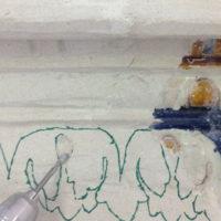 Stück für Stück – Die Restaurierung eines Kachelofens von Hans Kraut