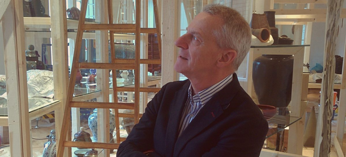 Kurzinterview mit Johannes Wieninger, Kustode MAK-Sammlung Asien